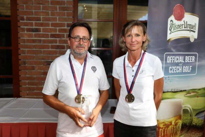 Andrew Bruce a Martina Fulínová - foto Annie Krčmářová