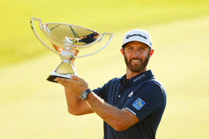 Dustin Johnson - foto twitter pgatour