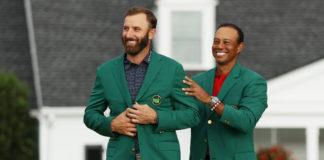 Zelené sako pro vítěze Masters 2020 - foto twitter pgatour