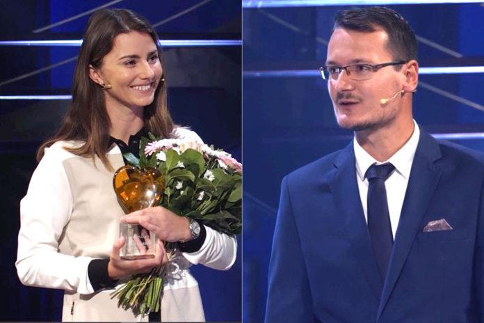 Klára Spilková a Ondřej Lieser