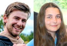 Patrik Jeřicha a Klára Sionková - foto Instagram a Ivan Paggio